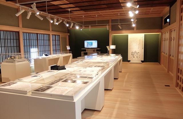 展示室・情報コーナー