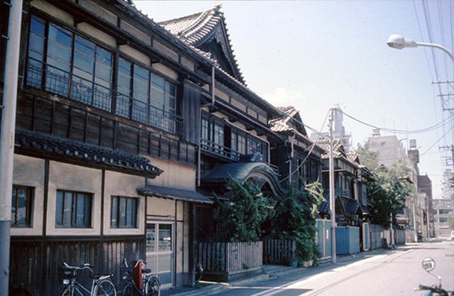昭和64年当時の旧協働会館01(現伝統文化交流館)